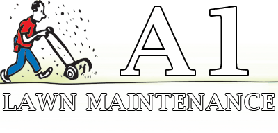 A1 Lawn Maintenance Logo